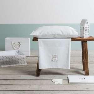 Set Lettino Lux Collezione Orsetto Bianco